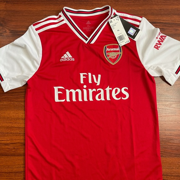 adidas Arsenal 2019/20 Home Soccer Jersey Youth XL
